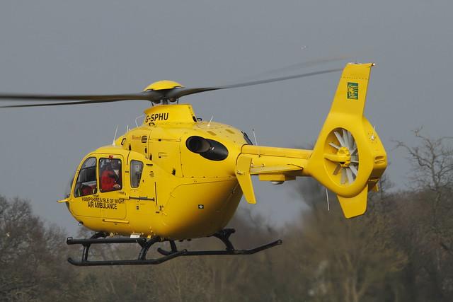 Air Ambulance G-SPHU