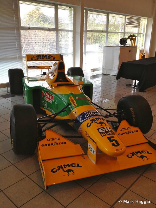 Michael Schumacher's 1993 Benetton