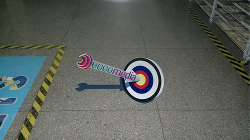 3D floor sticker for company logo | by 3D floor sticker - YeJun