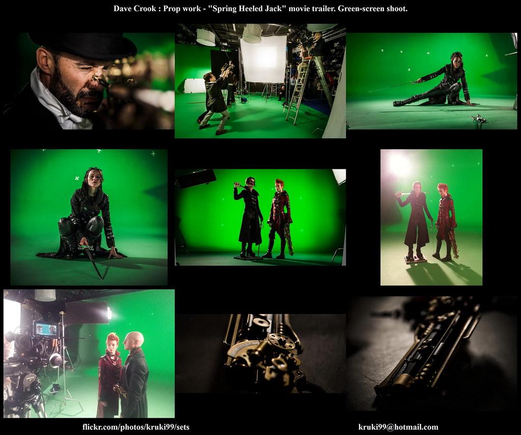 SpringHeeledJack movie shoot Dave Crook Prop work - Contac