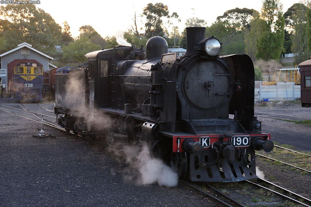 K190 at Maldon by James Brook