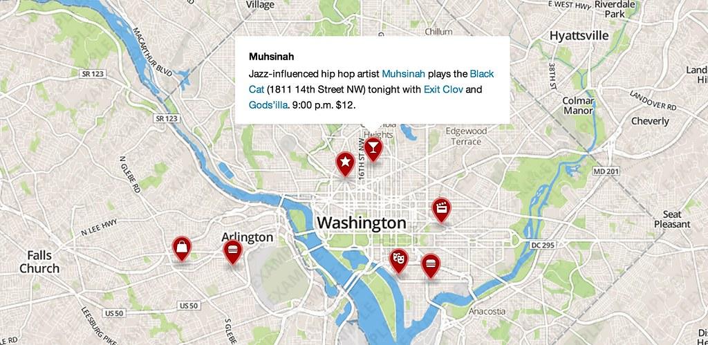 MapBox js Examples | Mapbox | Flickr