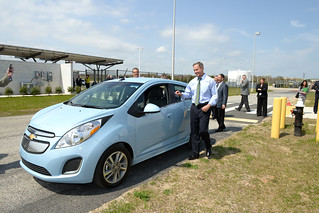 Governor O'Malley attends chevy spark announcement | by MDGovpics