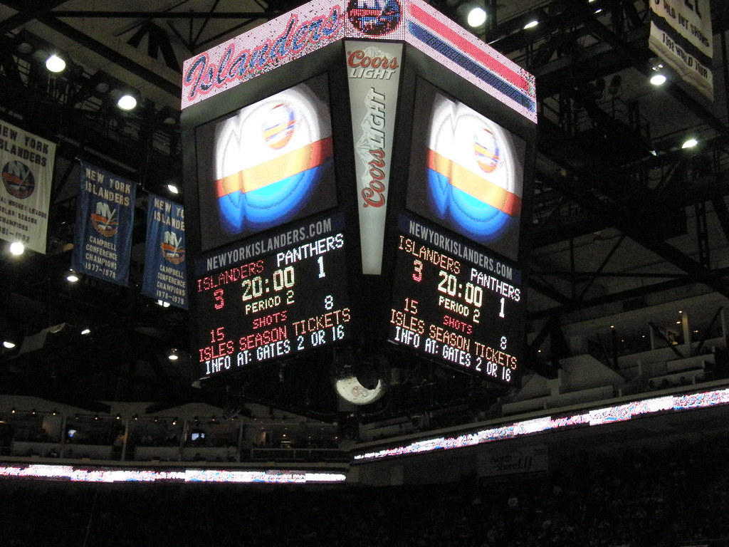 Isles v Panthers 4-16-13: Start of Second Period