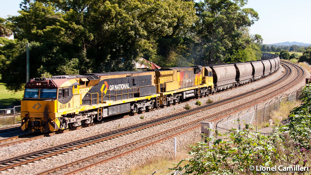 Aurizon Coal at East Maitland by LC501