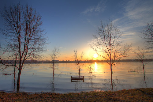 canada bench nb fredericton newbrunswick highwater hdr 2013 springfreshet