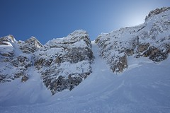 Mon, 2013-04-22 14:54 - Mt. Stanley, North Face and Waterman Couloir with Joshua Lavigen and Ali Haeri