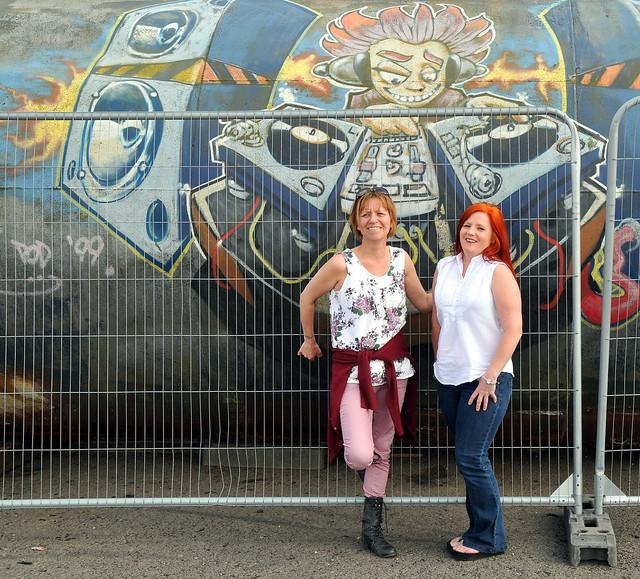 Girls with Graffitti