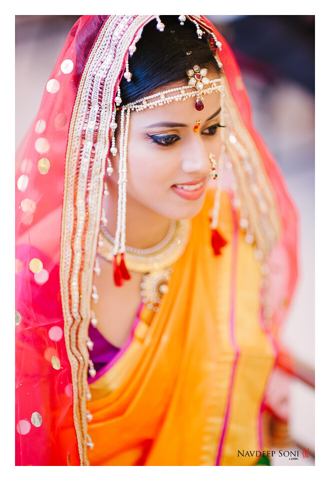 Maharashtrian Bride Wearing Navari | Facebook | Twitter | In
