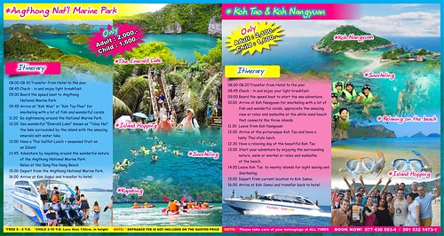 Angthong National Marine Park and Koh Tao & Koh Nangyuan | by funnydaysafari
