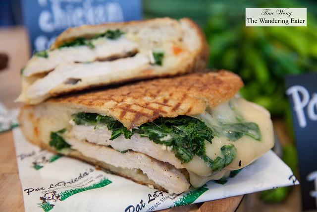 Grilled chicken sandwich by Pat LaFrieda Meat Purveyors