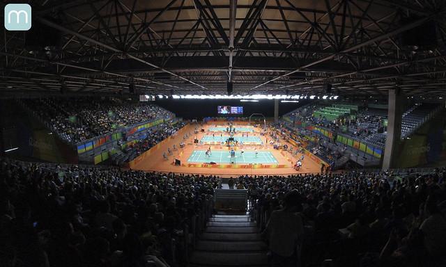 Rio 2016 - Badminton - Rio Centro Pavilhão 4