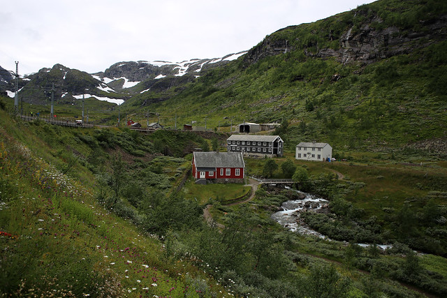 Flam Valley walk at Myrdal