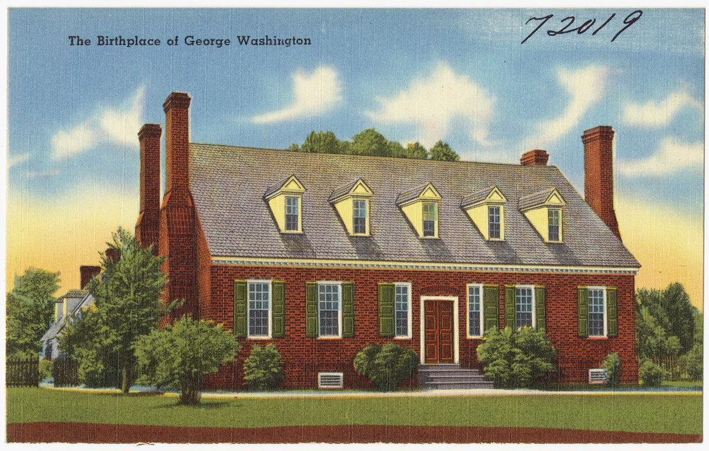 The birthplace of George Washington