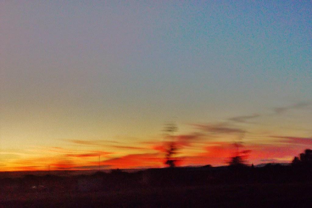 Sunset at 6pm