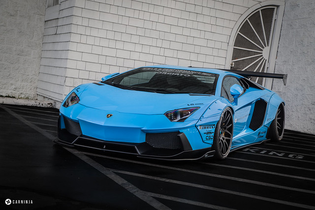Lamborghini Newport Beach Supercar Saturday - Liberty Walk Edition