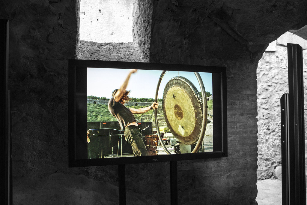 PINK FLOYD – LIVE AT POMPEII UNDERGROUND | Le immagini in mo