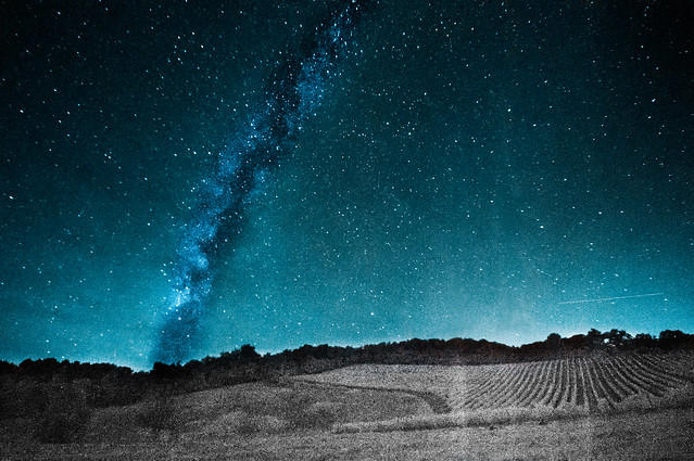 Infrared (720nm) Milky Way