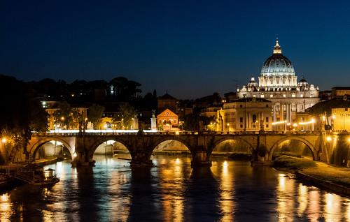 tevere roma ponte basilica