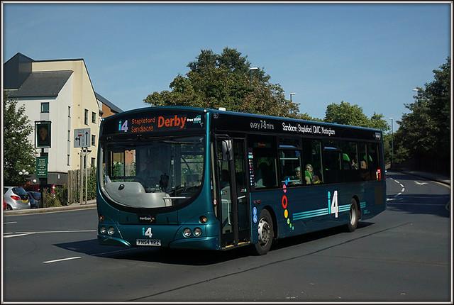 Trent Barton 667, Nottingham