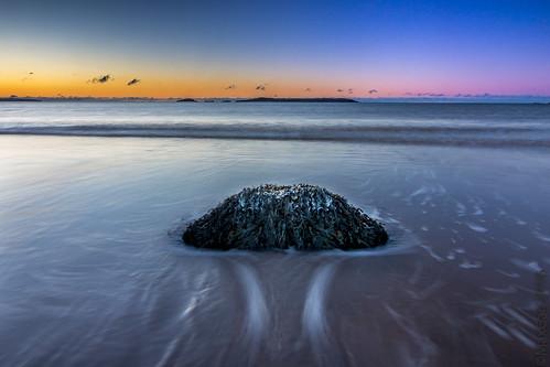 irvingnaturepark bayoffundy newbrunswick saintjohn rock manawagonish sunrise longexposure