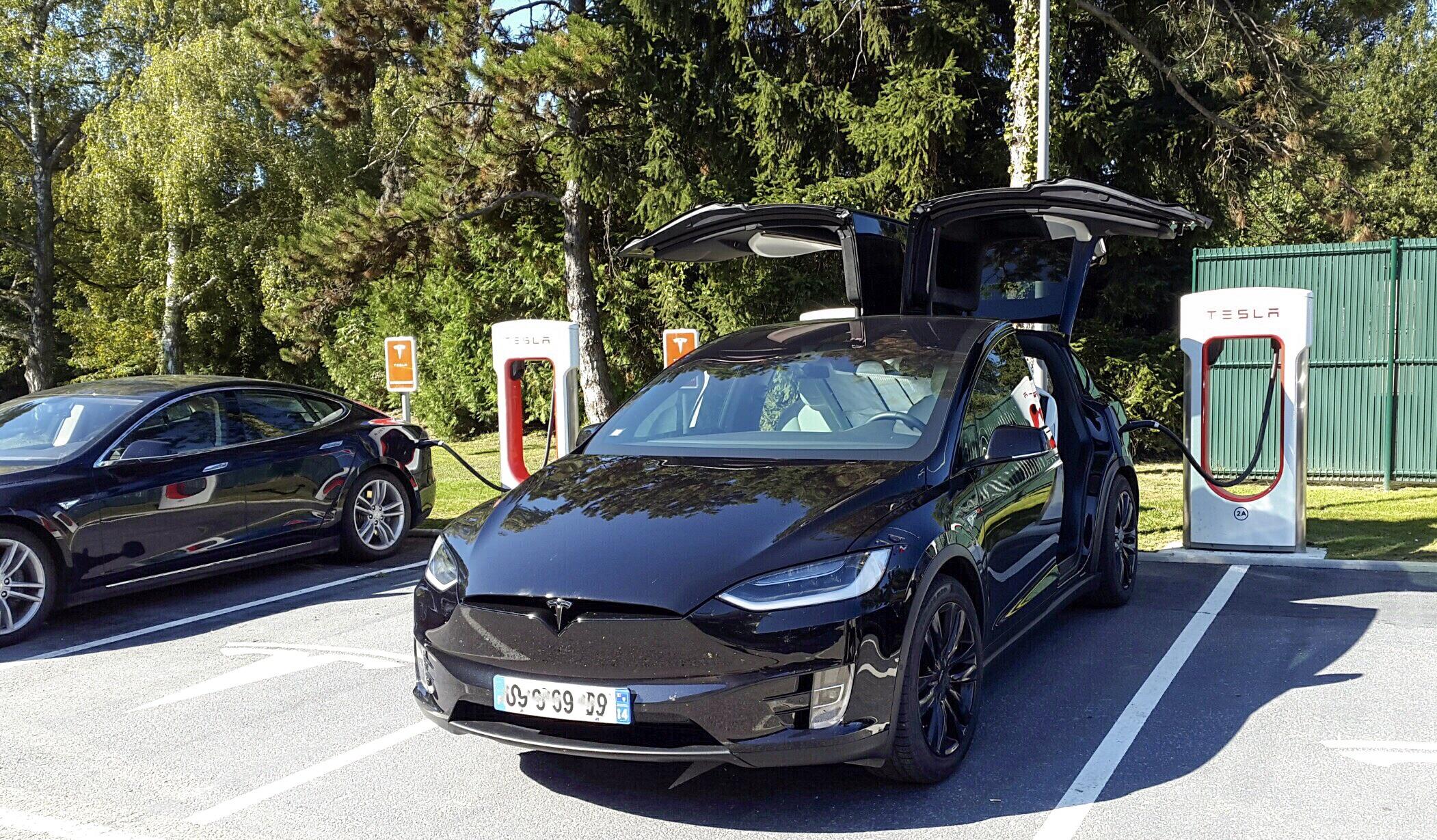 Tesla electric car charger