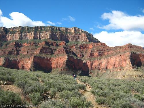 Cliffs along the Tonto Trail, Grand Canyon National Park, Arizona