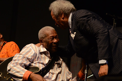 BB King and Allen Toussaint.  Photo by Hunter King.