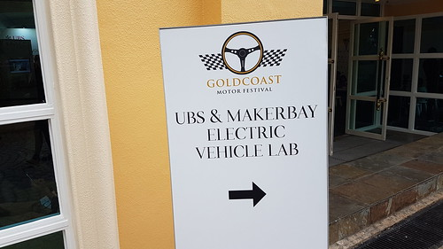 UBS & MakerBay Presenting Sapphire Voyager at Gold Coast Motor Festival