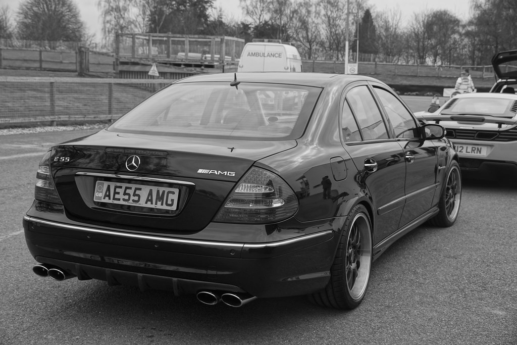 Mercedes Benz E55 AMG Kompressor V8 2006 | f1jherbert | Flickr