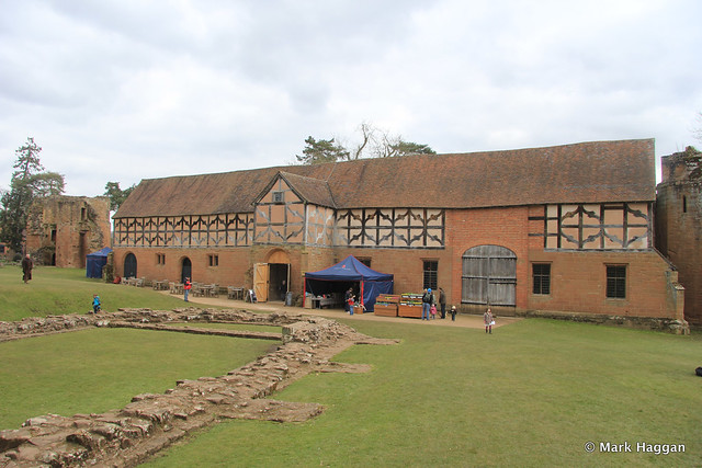 The Stable Block at Kenilworth Castle