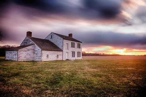 sunset day cloudy