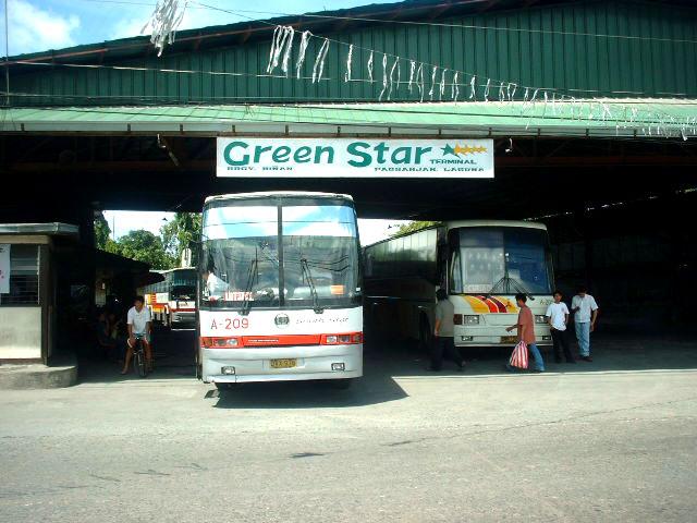 Green Star Express (ex- Jam Liner) Nissan Diesel NDPC Euro and HM Transport Inc, Mitsubishi Fuso Almazora Travel Star 2001 Model