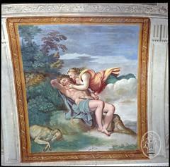 Le Dominquin, Diane et Endymion, Fresque, Salle de Diane, Bassano Romano, Villa Giustiniani & Palais Odescalchi
