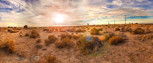 california ca sunset panorama sun mountains tree set canon studio high media desert joshua pano horizon group l hesperia 28 elevated dennis f28 phelan victorville t3i dns adelanto 1635mm 600d arriaza