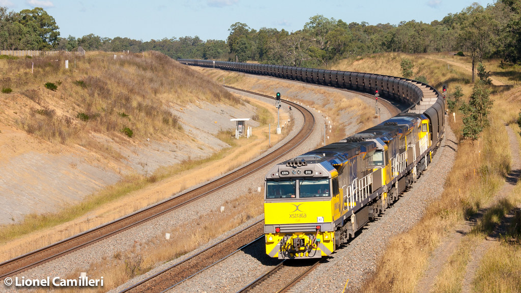 Xtrata empty coal by LC501