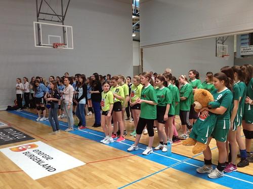 1. Platz beim Volleyballturnier in Güssing | by josefinum