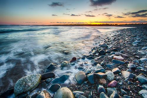 sunset canada beach water novascotia ns halifax lawrencetown eastlawrencetown lawrencetownbeach