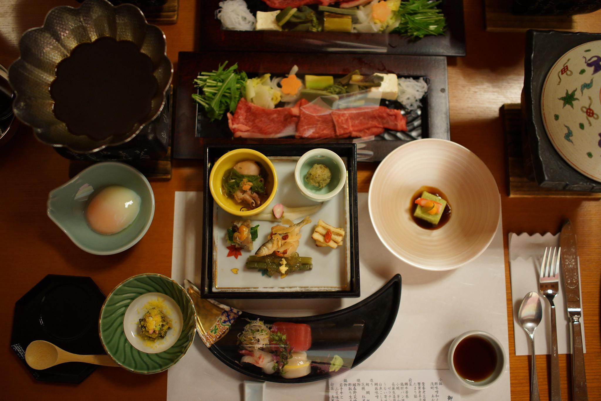 dinh dưỡng Washoku nhà hàng