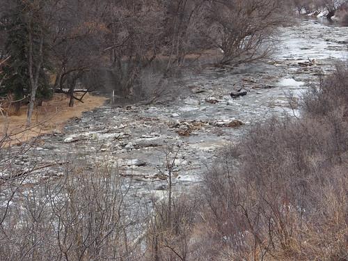 ice break flood saskatchewan iceflow moosejaw 2013 moosejawriver