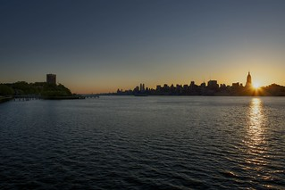 Sunrise Over The Hudson | by mgarbowski