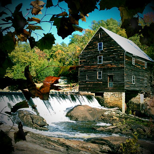 fall water rural river rustic northcarolina franklincounty laurelmill