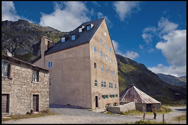 Hospice du Gothard   , Le Col du St. Gothard . No. 0201.