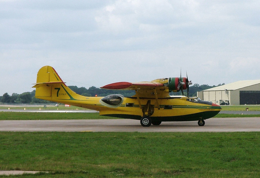 C Fnjf Consolidated Pby 5a Catalina Raf Fairford 19 July Flickr