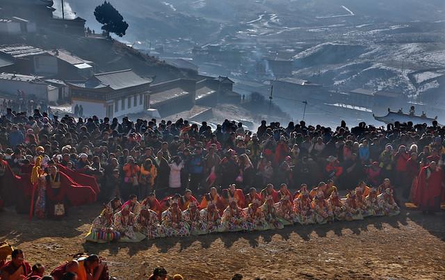 Great expectation--Langmusi , Gansu Province , China