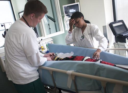 EMT/Nursing Pediatric Emergency Simulation - April 2013 3 | by COD Newsroom