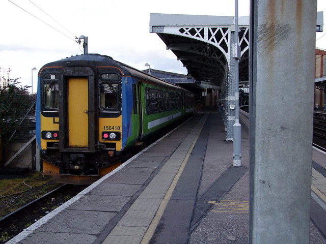 156 418 forms 18.17 Ipswich - Lowestoft and our ride home.