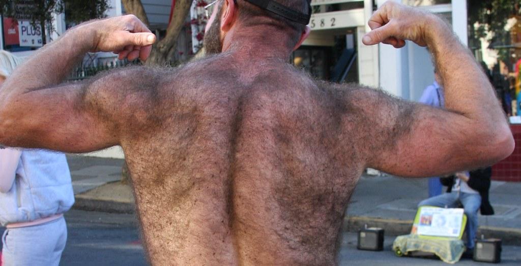 HELLA HAIRY MAN BACK ! ~ FOLSOM STREET RE-MIX ( re-edited …   Flickr