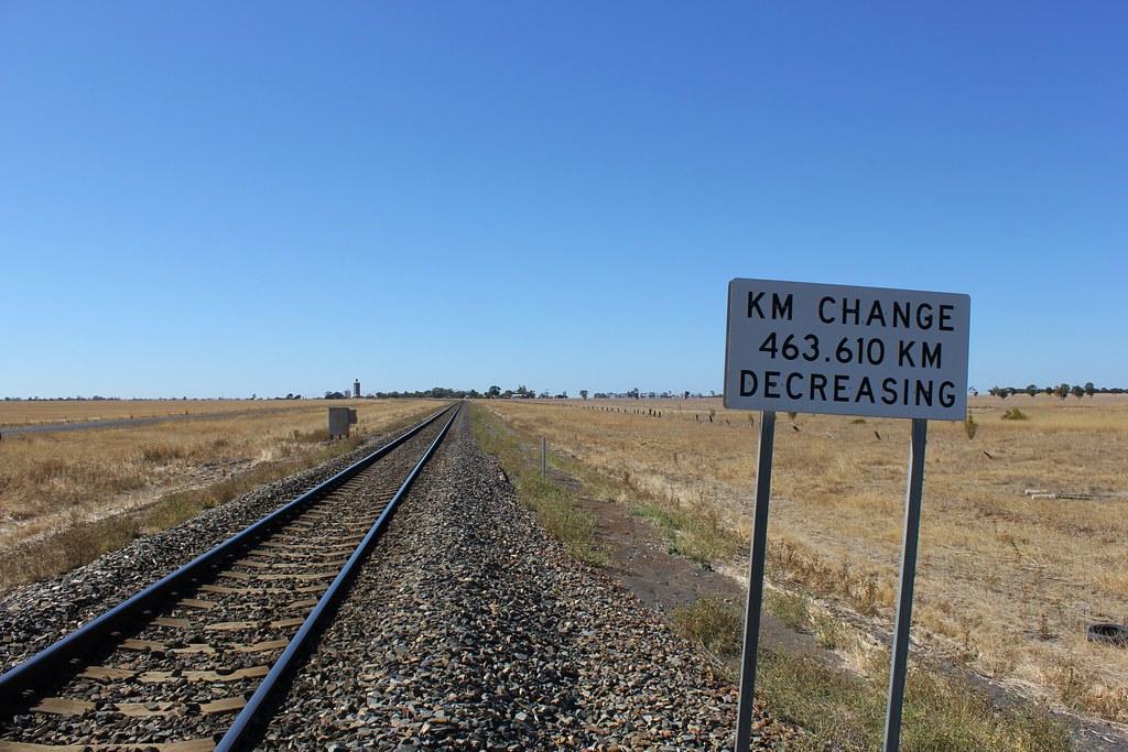 KM change for Melbourne bound trains by bukk05