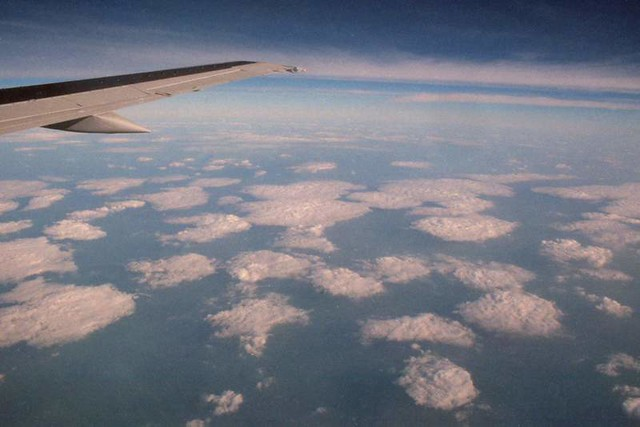 Flight to Copenhagen, August 1999
